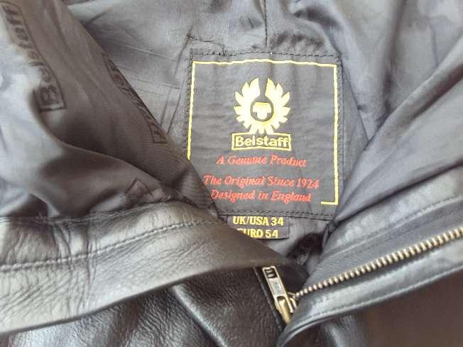 Imagen producto Pantalón de piel Belstaff  7