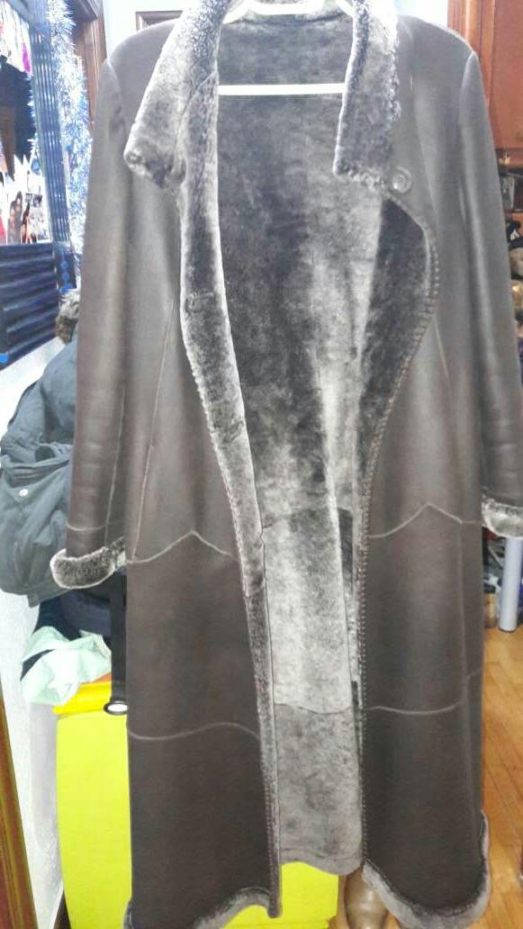 Imagen abrigo de piel