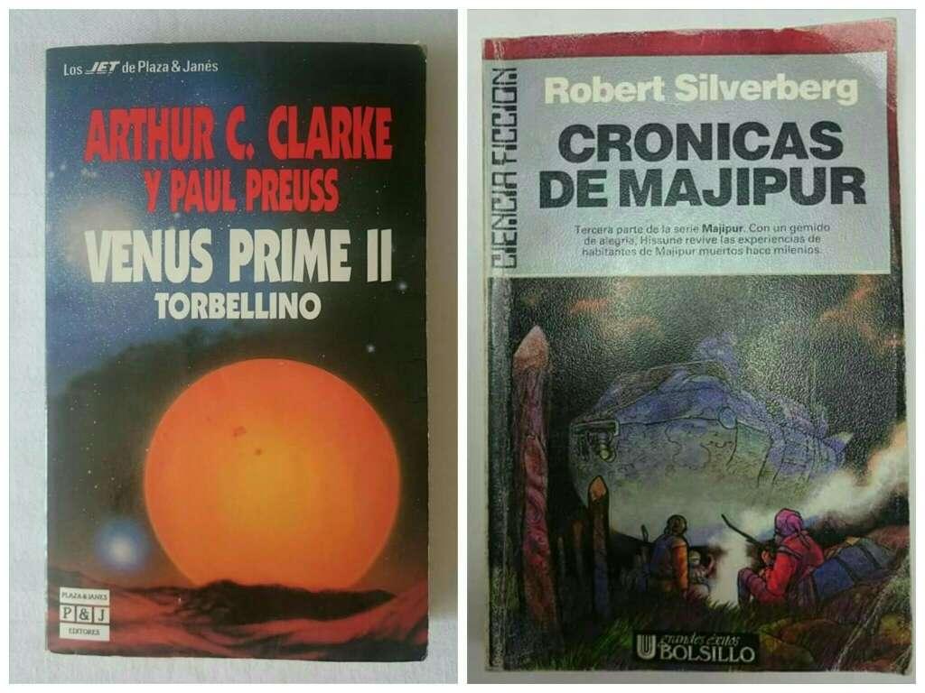 Imagen libros antiguos Ciencia ficción