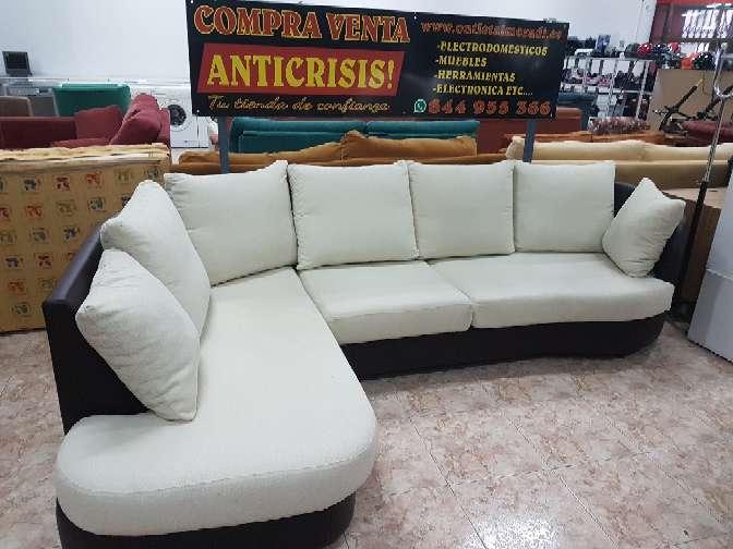 Imagen sofa mixto rinconera base en polipiel
