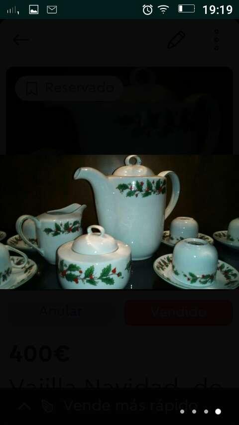 Imagen producto Juego café y te ,porcelana fina francesa 3