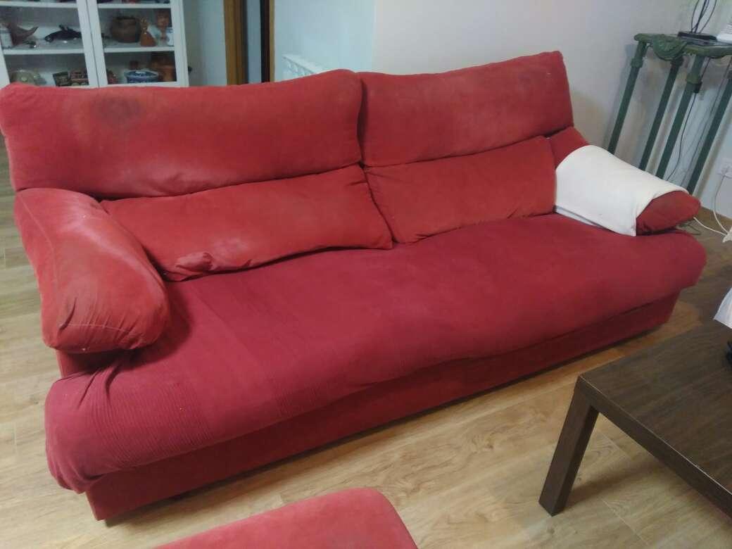 Imagen OFERTÓN: Sofá sillón de plumas