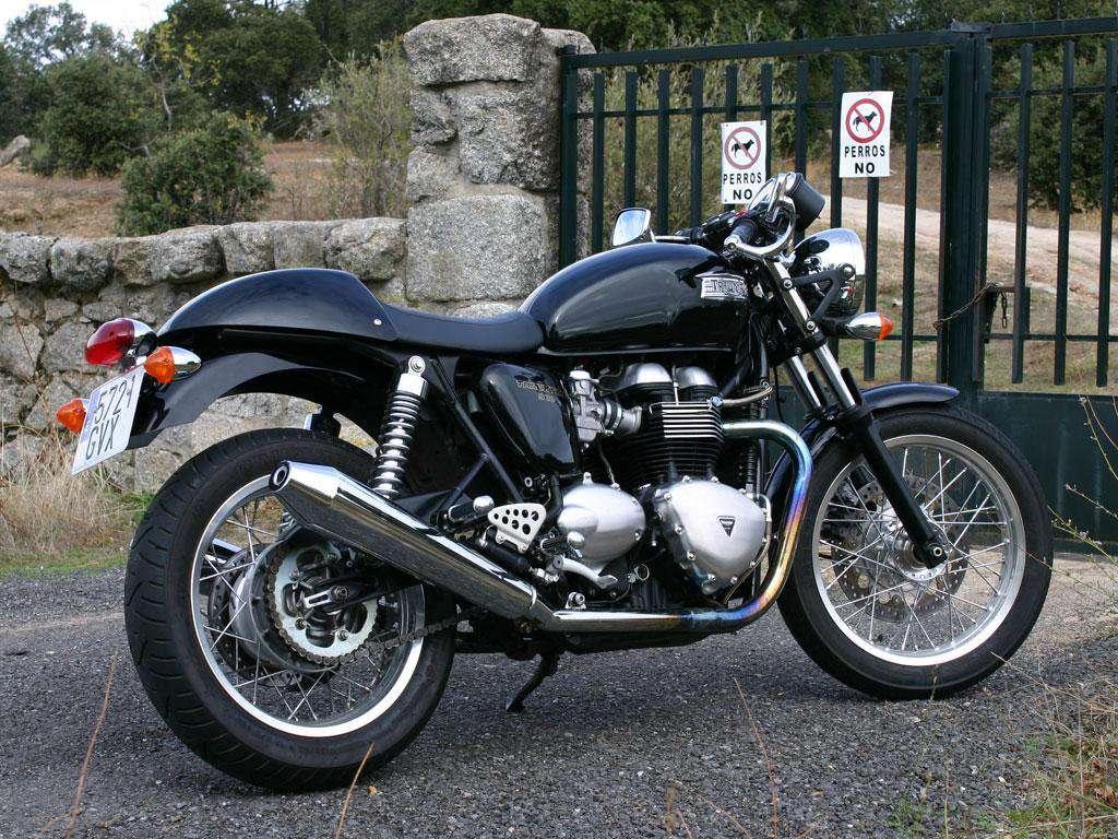 Imagen producto Triumph thruxton moto 2