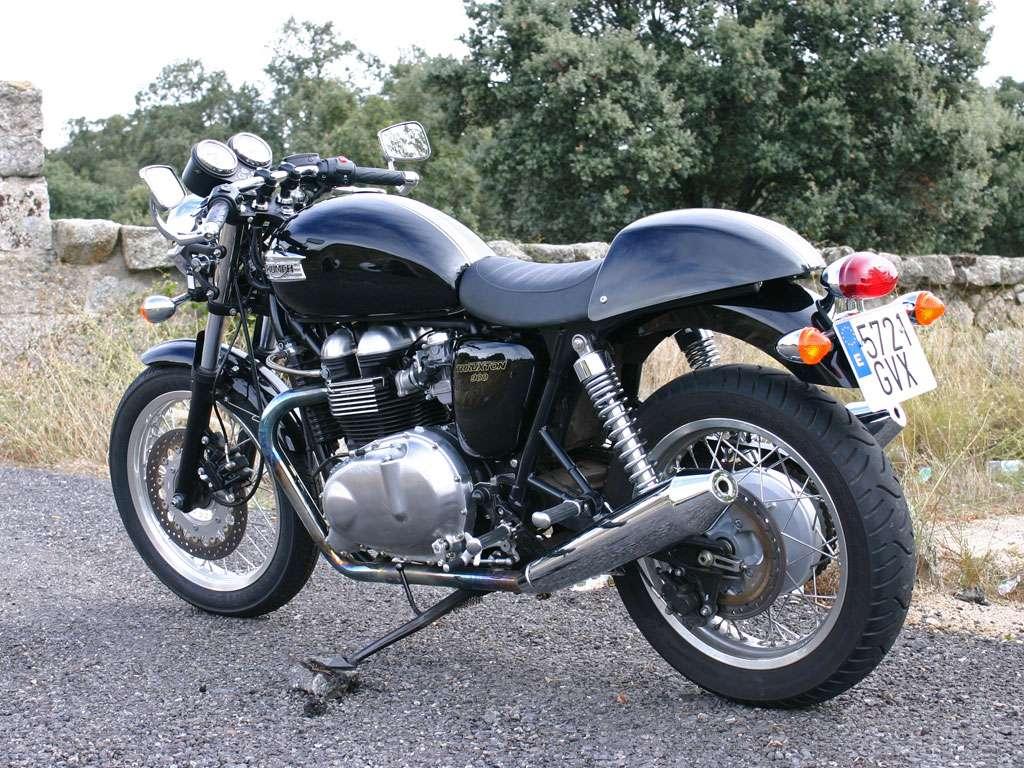 Imagen Triumph thruxton moto