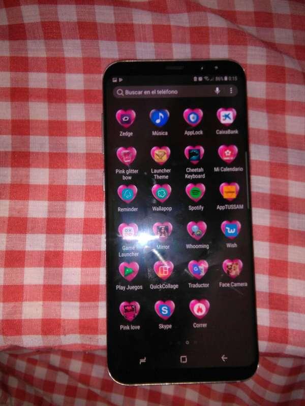 Imagen Vendo Samsung galaxy s8 plus