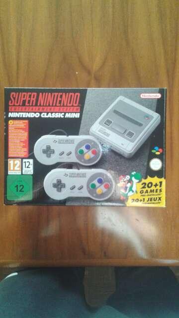 Imagen Nintendo classic mini