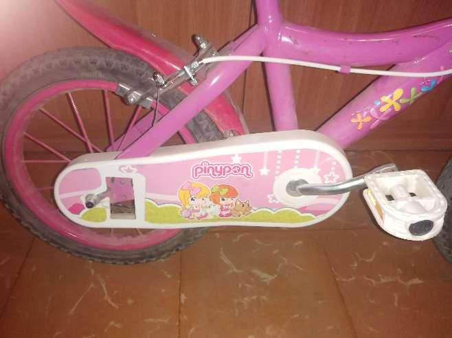 Imagen bicicleta niña pinypon