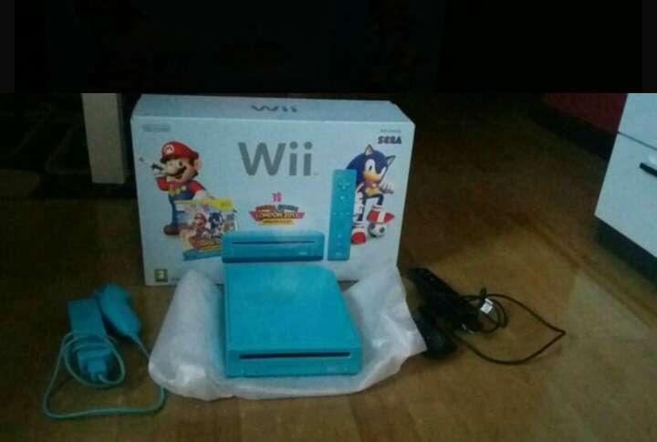Imagen Wii azul como nueva