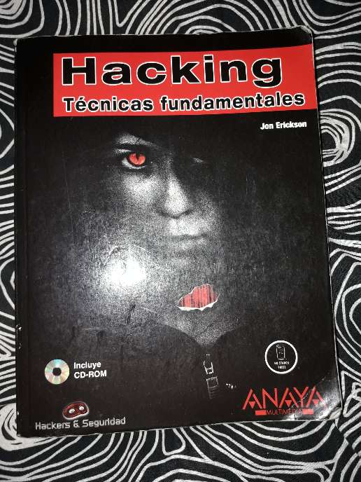 Imagen Libro de hacker:Tecnicas fundamentales del hacking