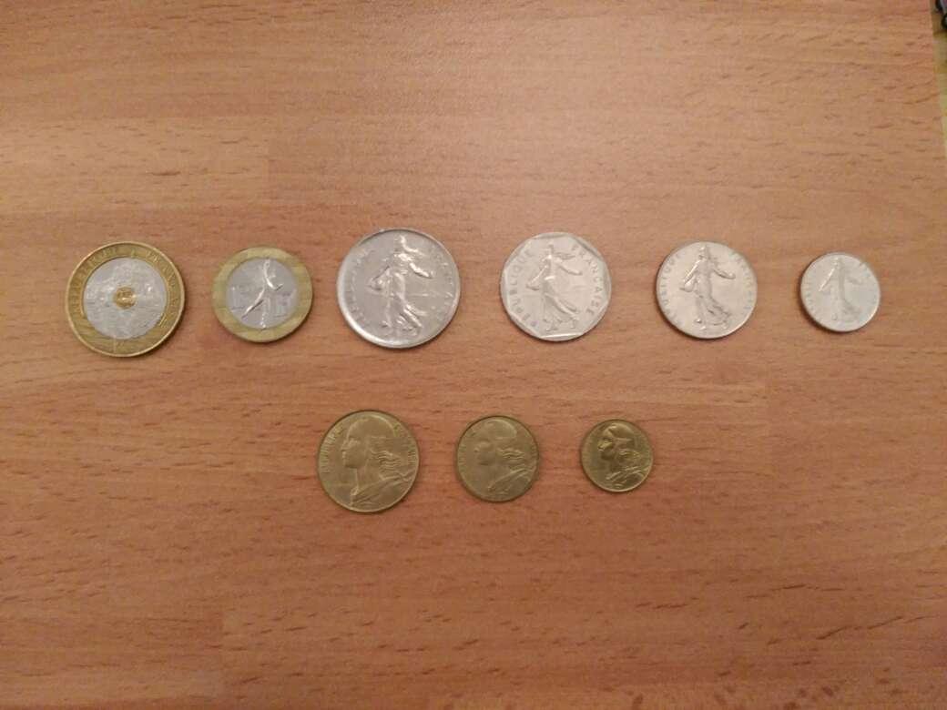 Imagen producto Lote numismática francesa-francos/monedas- 2