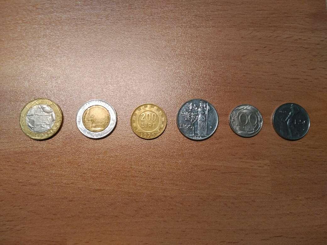 Imagen producto Lote numismática italiana-liras/monedas- 2
