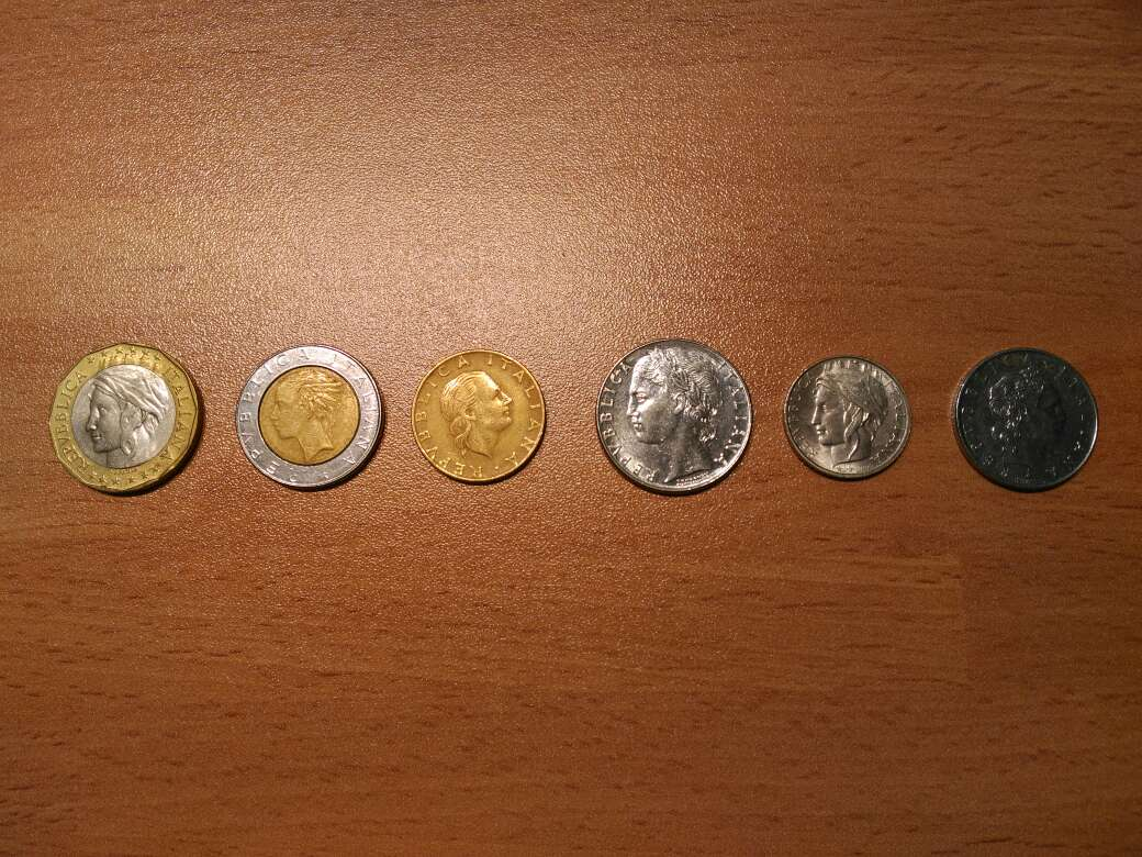 Imagen Lote numismática italiana-liras/monedas-