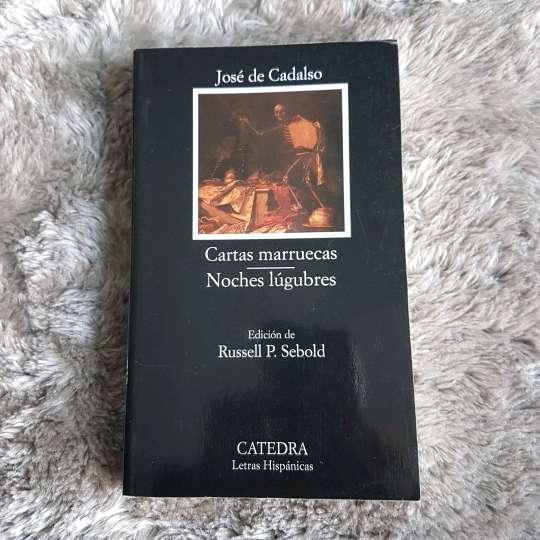 Imagen Libro Cartas  Marruecas/Noches lugubres