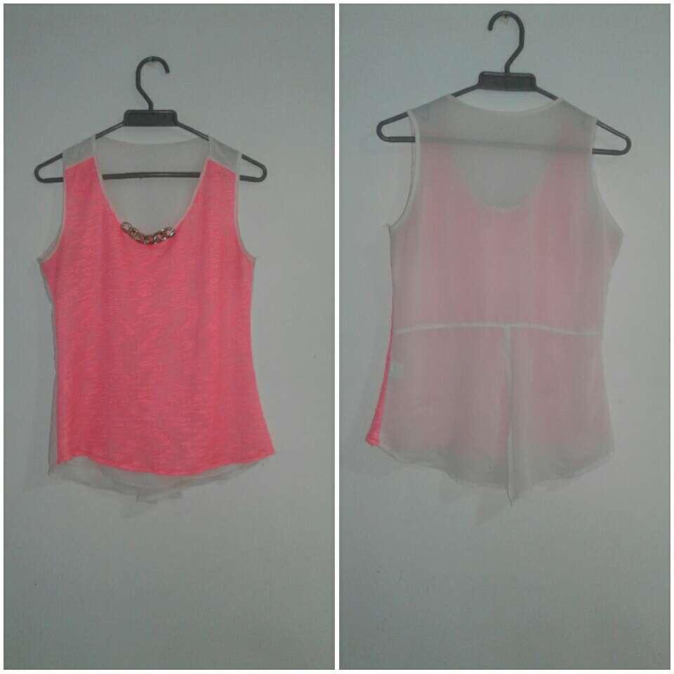 Imagen blusa rosada elegante