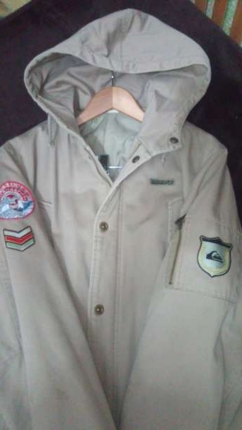 Imagen chaqueta parka marca Quiksilver