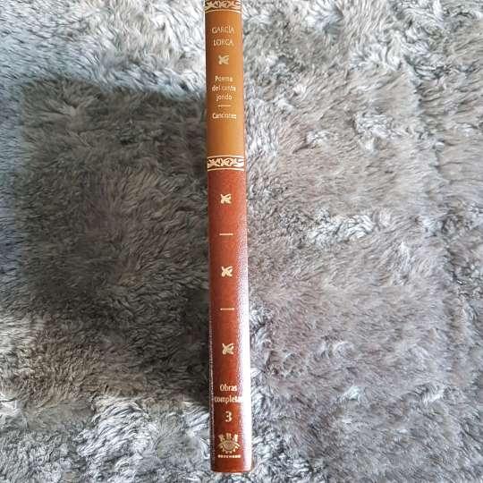 Imagen producto Libro poemas de Cante Jondo/Canciones 3