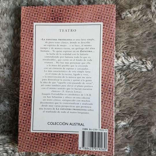 Imagen producto Libro La zapatera Prodigiosa 2