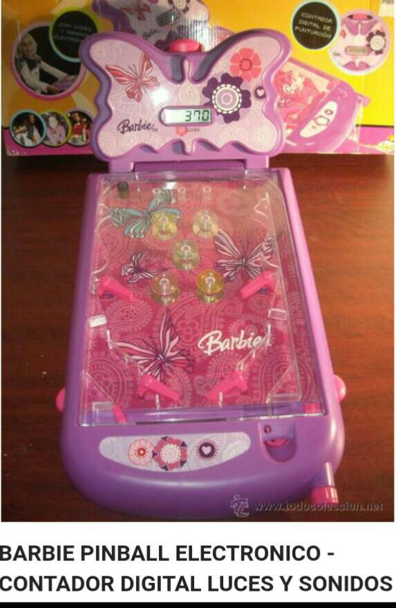 Imagen Barbie pinball electrónico