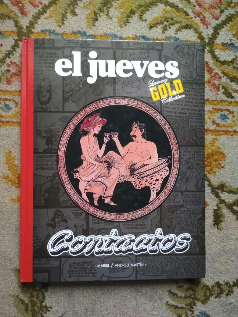 Imagen libro cómic el jueves luxury Gold collection CONTACTOS