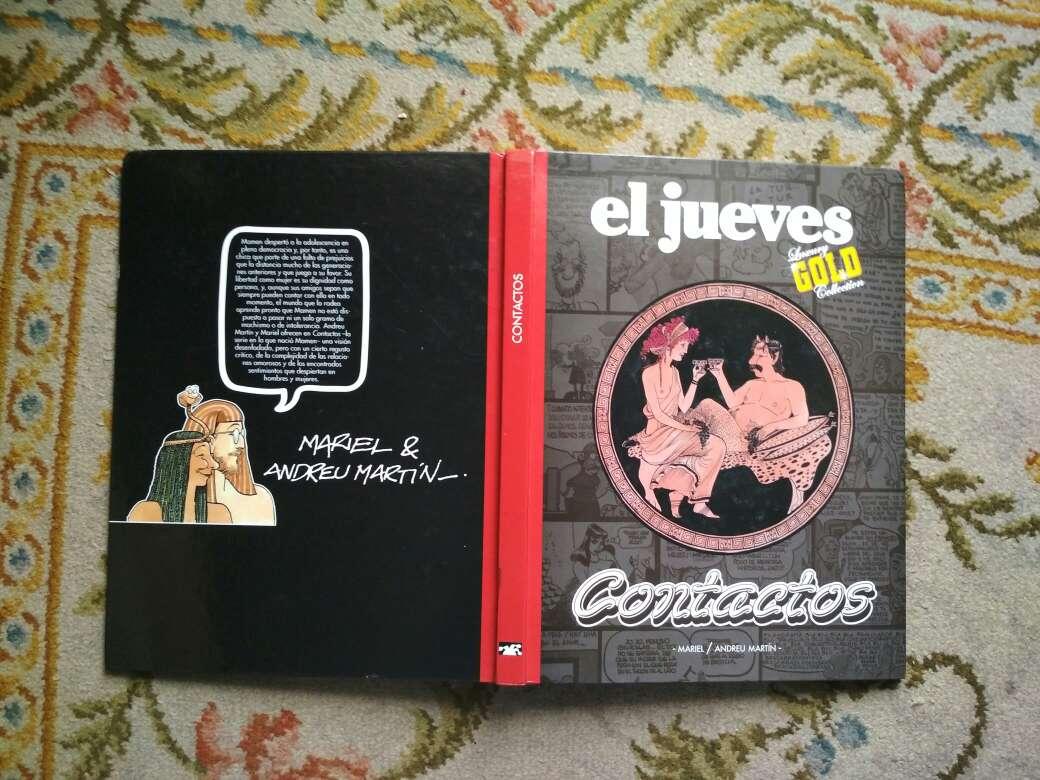 Imagen producto Libro cómic el jueves luxury Gold collection CONTACTOS  5