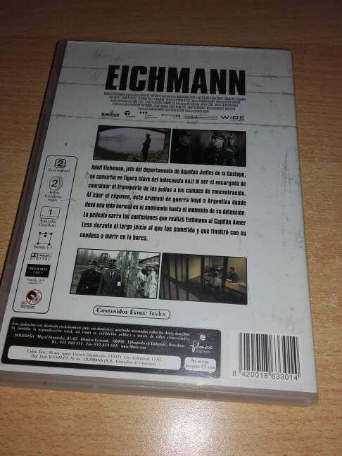 Imagen producto EICHMAN ( DVD ) 2