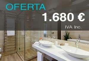 Imagen Oferta reforma baño por tan solo 1.680€