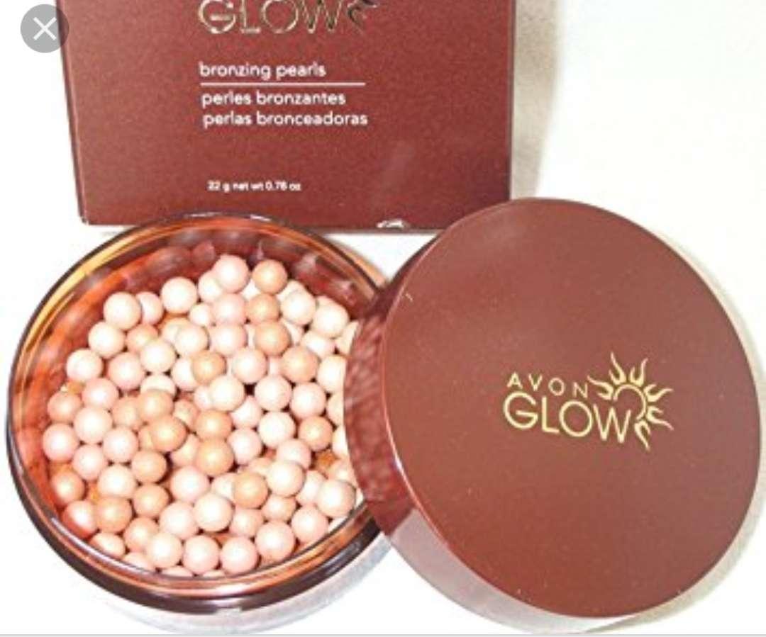 Imagen producto Perlas bronceadoras de Avon glow 2