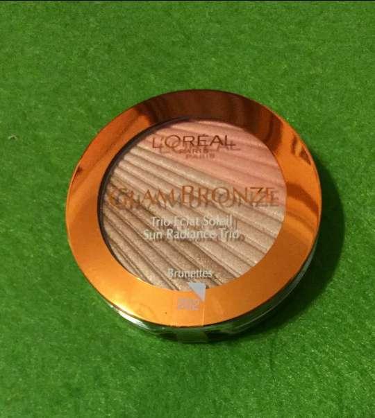 Imagen producto Loreal bronze trío iluminador bronceador 3