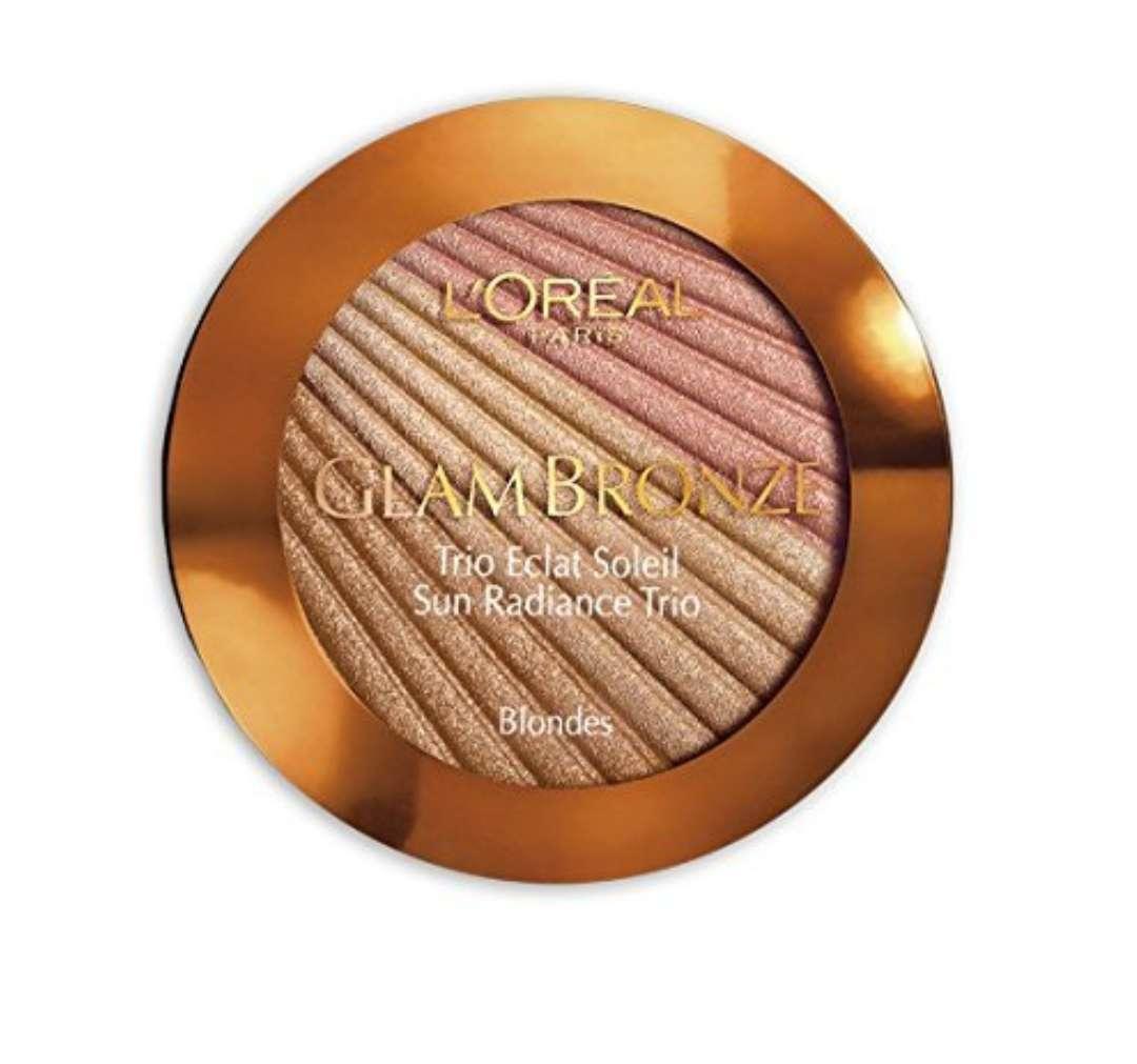 Imagen producto Loreal bronze trío iluminador bronceador 2