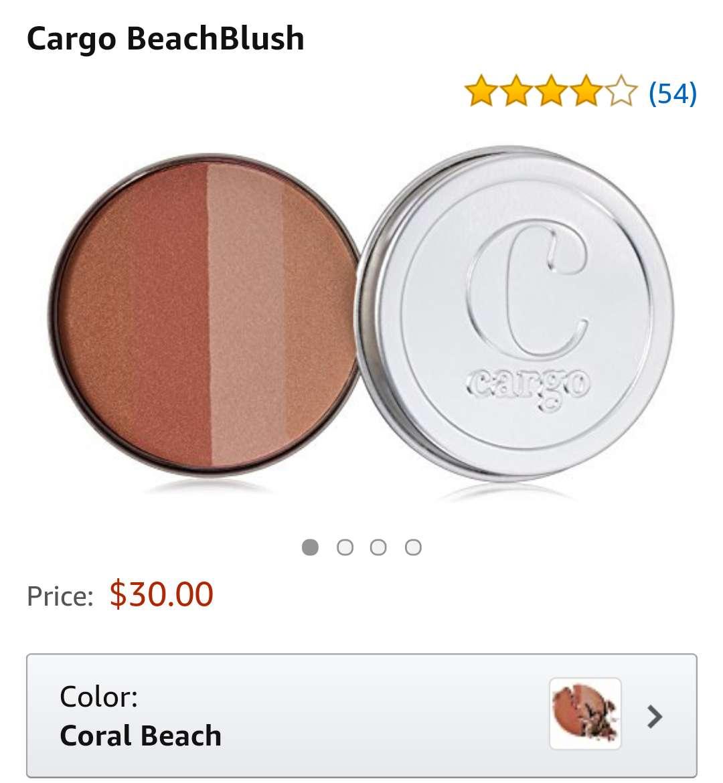 Imagen producto Colorete beach blush tono coral 3