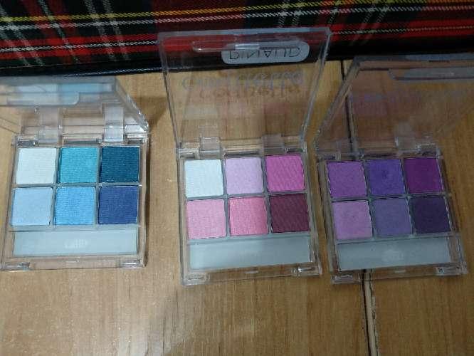 Imagen producto Pack de tres paletas de sombras pinaud 3