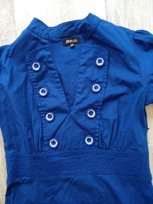 Imagen producto Vestido azul de blanco  2