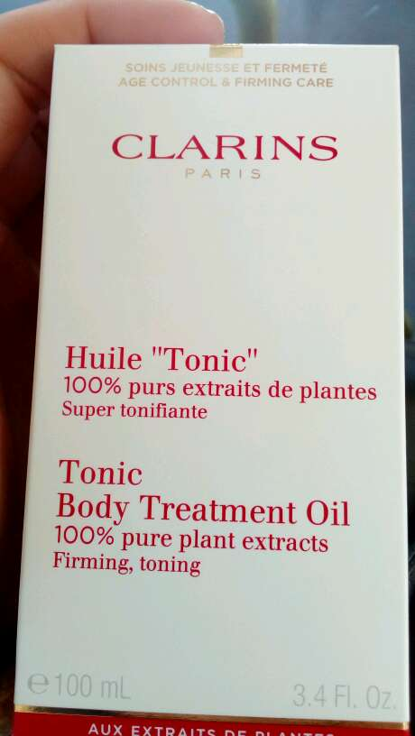 Imagen producto Aceite tonic clarins 1