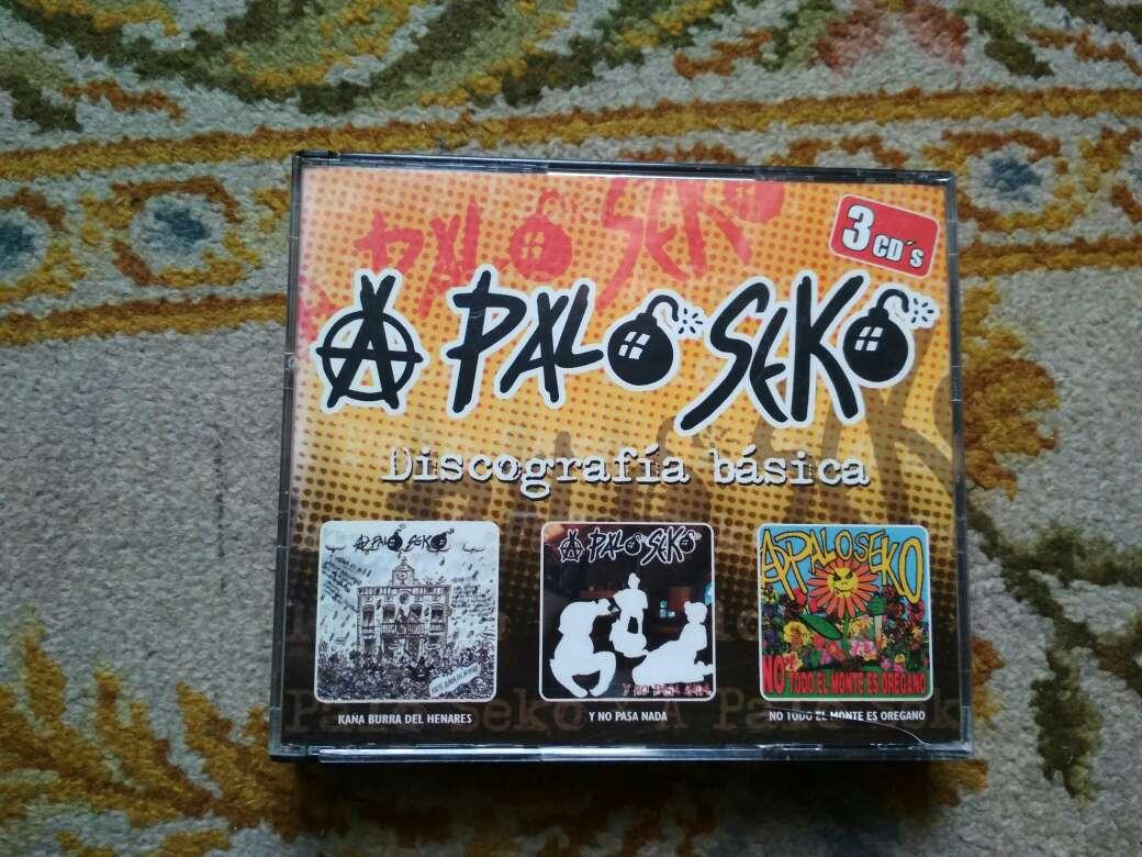 Imagen A palo seko discografía básica son 3 cds