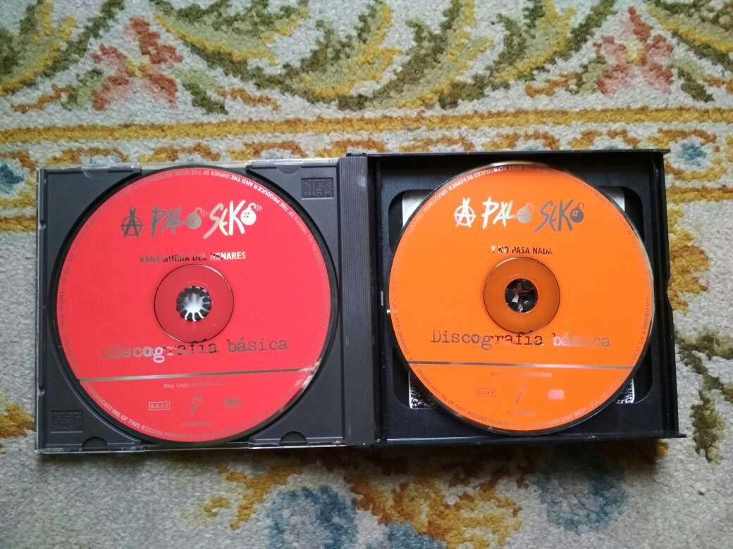 Imagen producto A palo seko discografía básica son 3 cds 2