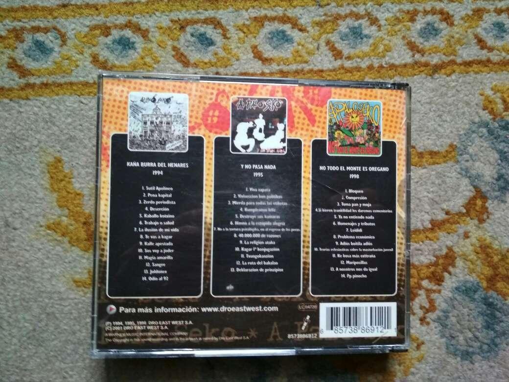 Imagen producto A palo seko discografía básica son 3 cds 4