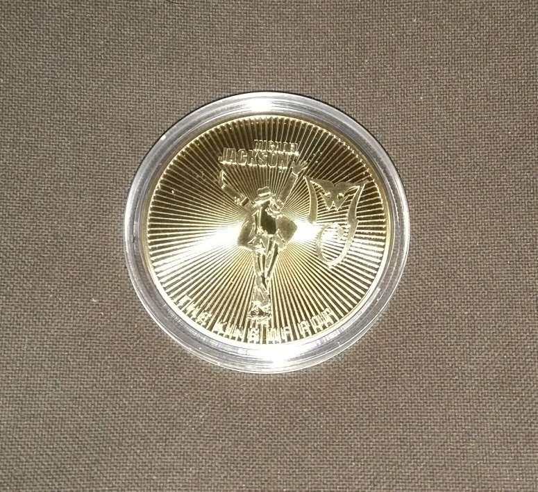 Imagen Moneda de Michael Jackson