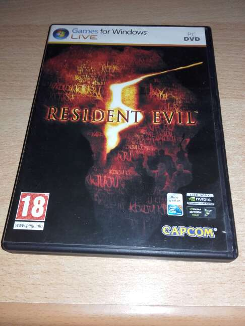 Imagen producto RESIDENT EVIL 5 1