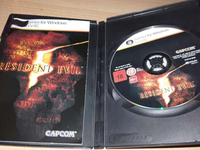 Imagen producto RESIDENT EVIL 5 3