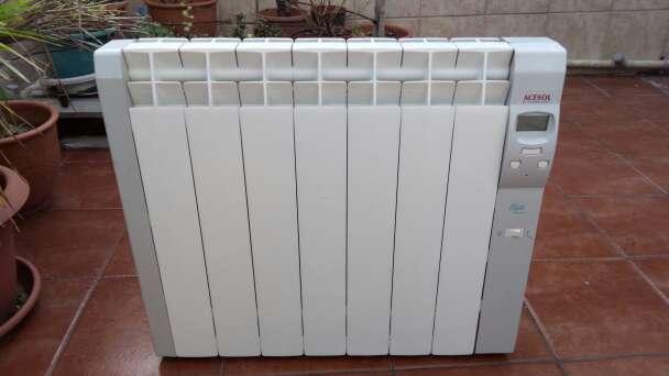 Imagen Calefacción Calor Azul