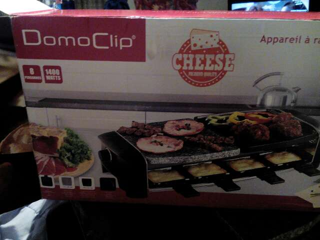 Imagen Raclette multifuncion domoclip