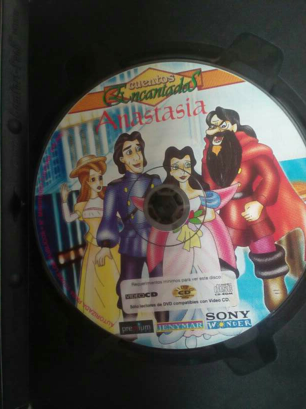 Imagen producto Anastasia - Película en DVD 3
