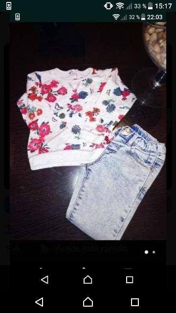 Imagen producto Sudadera y pantalon para 2 años 1