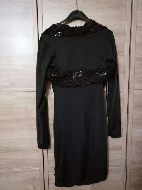 Imagen producto Vestido lentejuelas y bolero 4