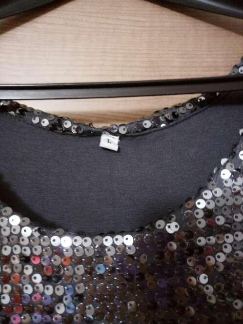 Imagen producto Vestido lentejuelas gris 2