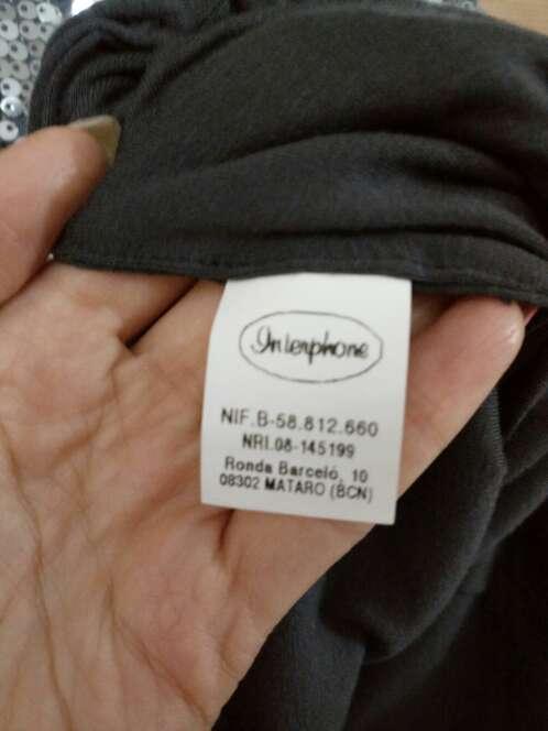 Imagen producto Vestido lentejuelas gris 3