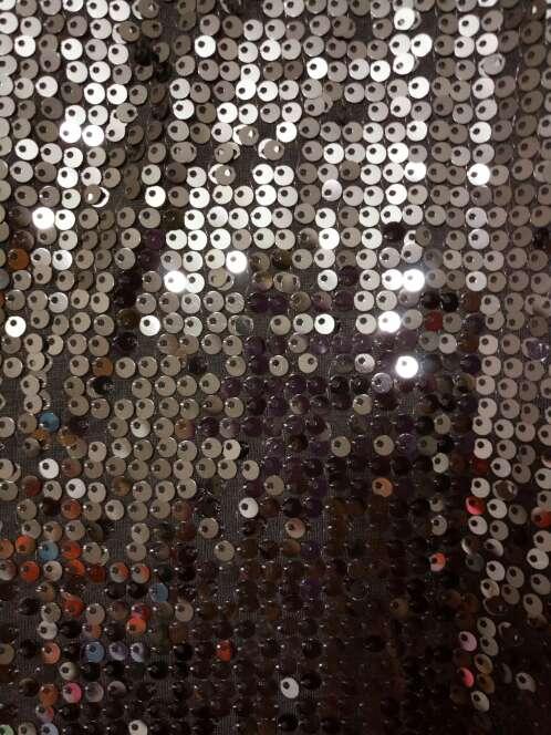 Imagen producto Vestido lentejuelas gris 5