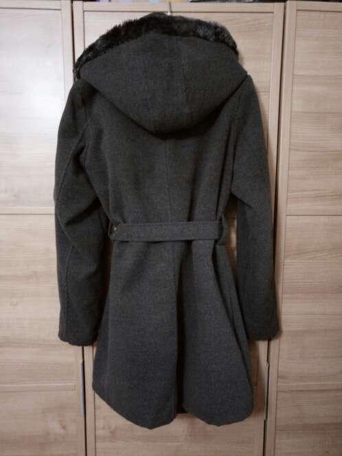 Imagen producto Abrigo gris lana 2
