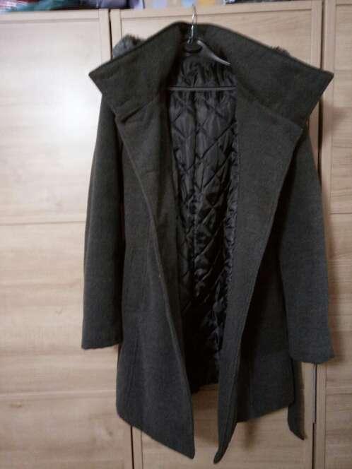 Imagen producto Abrigo gris lana 3
