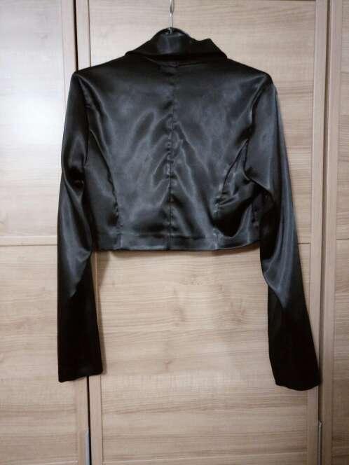 Imagen producto Bolero raso negro 3